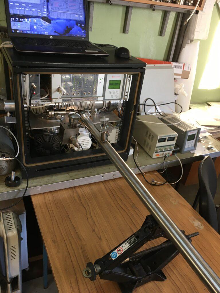 Анализ состава газовой смеси на масс-спектрометре МС-500 фото