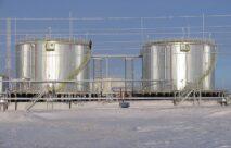 Измерение состава газовоздушной смеси в емкостях с нефтепродуктами